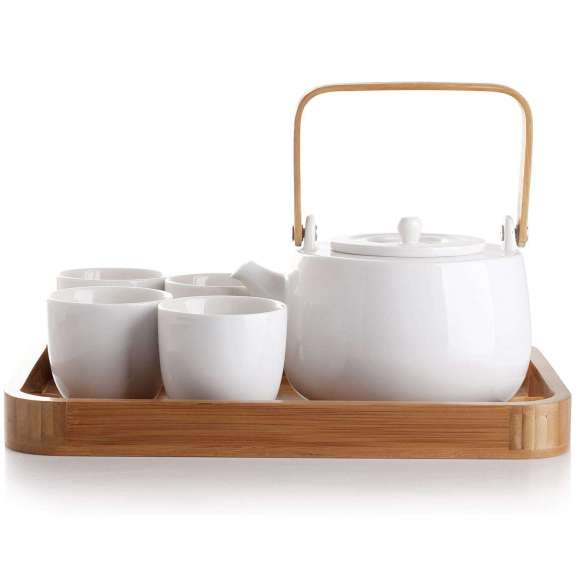 #14 CasaWare Serenity 7 Piece Tea Pot Set – $59.99
