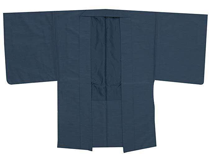 #18  KYOETSU Men's Haori Kimono Jacket Tsumugi Awase – $75.99