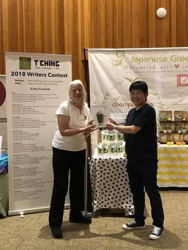 T Ching booth at Tea Fest PDX