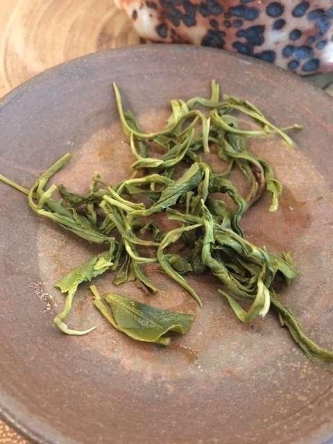 green organic tea from Shizuoka