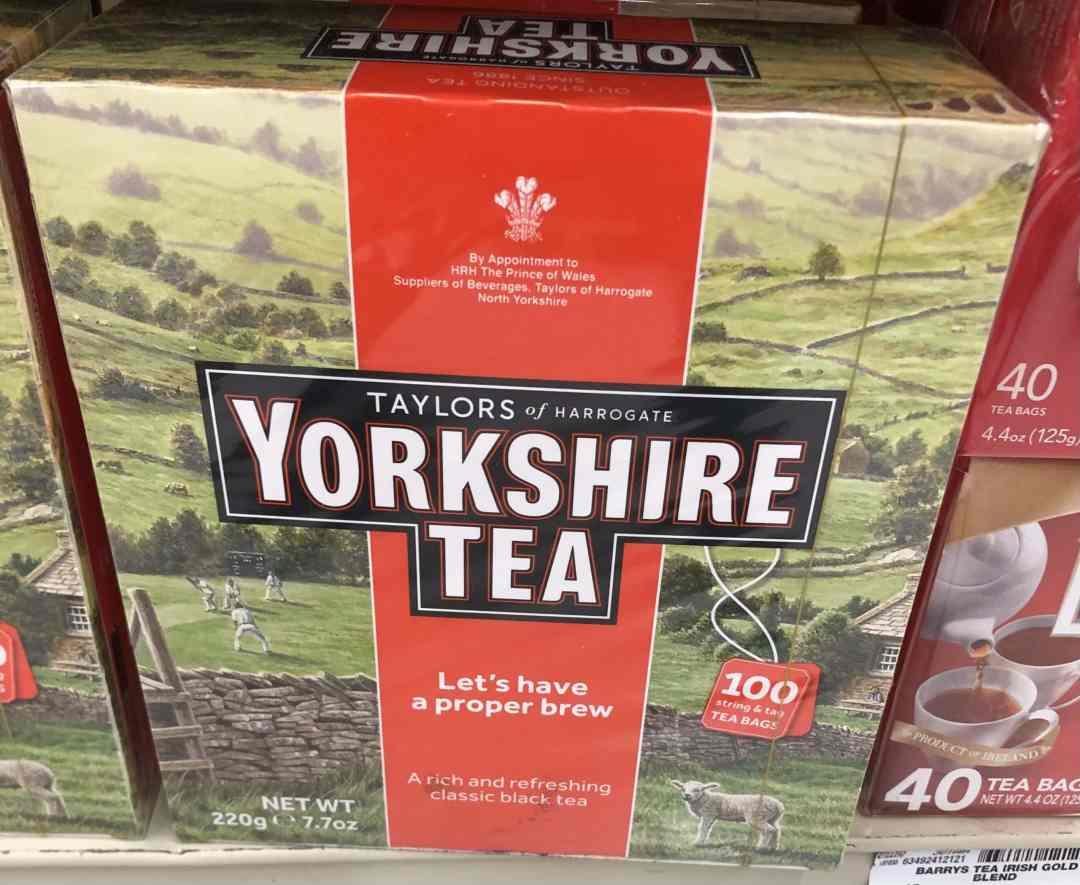Make Tea Not War - Photo of Yorkshire Gold Tea