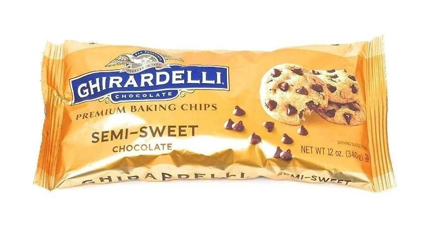 3 of 10 Non-Japanese Snacks: Ghirardelli Semi-Sweet Chocolate Chips