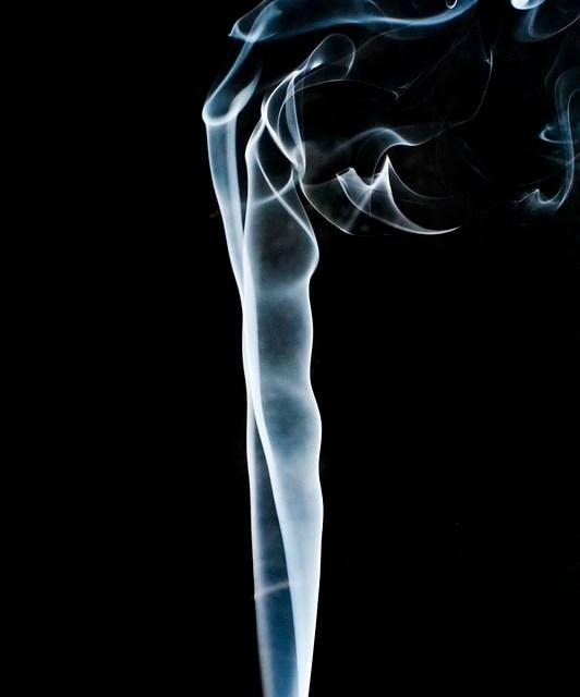 Smoking Tea