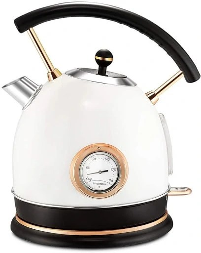 Pukomc Electric Kettle - Aesthetic and has a thermometer