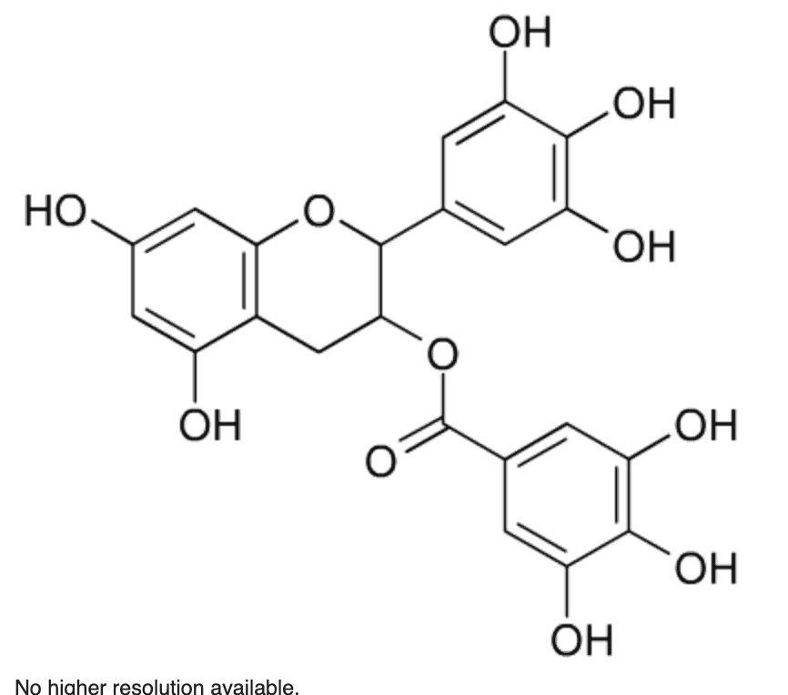 Chemical image of ECGC