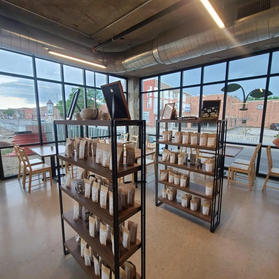 Cultivate Taste Tea Salon Interior, owned by Jennifer Nowicki