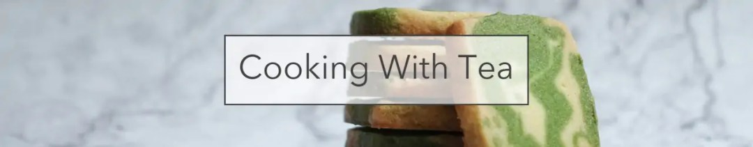 Cooking With Tea - Matcha cookies