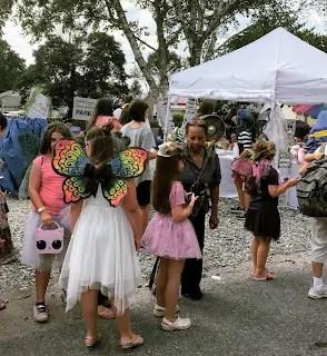 fairy tea party at PA Tea Festival