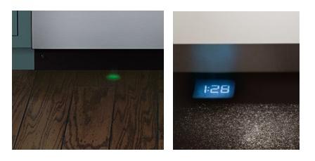 Wyświetlacz z kropką LED i ze wskaźnikiem końca pracy.