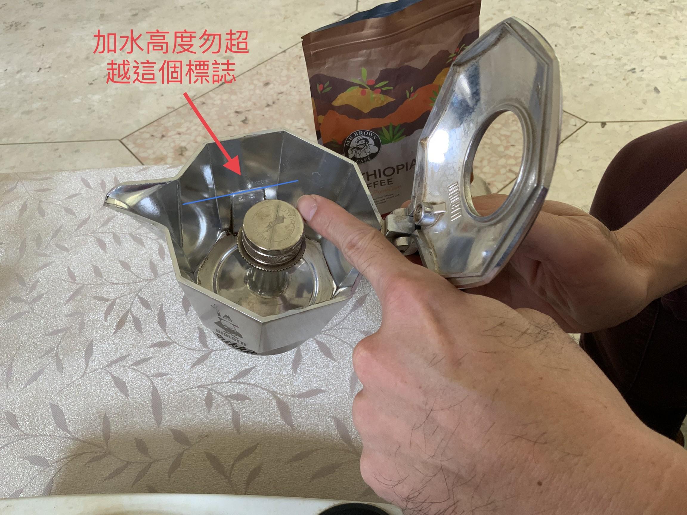 不藏私沖煮咖啡 加壓式摩卡壺 Bialetti