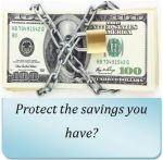 Protect the saving
