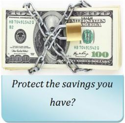 Protect your saving from market risk
