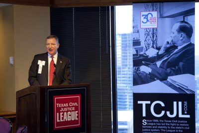Texas Civil Justice League 2017 Annual Meeting | Supreme Court Justice Jeff Brown