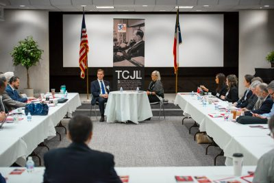 2018 Judges Forum_1037_jimmy-blacklock-lisa-kaufman