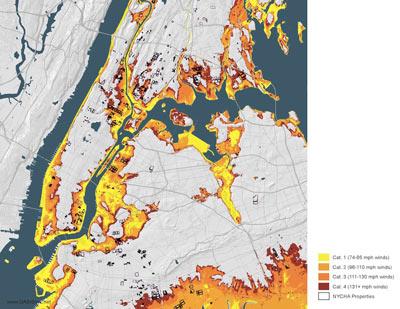 New York City Flood Map