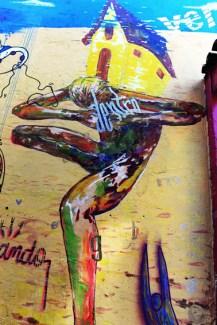 Detalhe do Muro Galeria TATO Mauro Neri