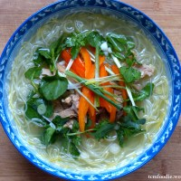 Spiced Chicken Noodle Soup: Improving circulation