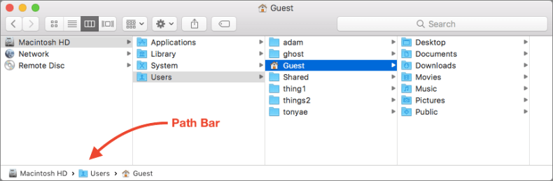 Finder Secrets: Navigating Your Folder Hierarchy with the Path Bar