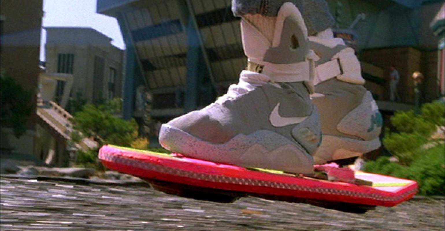 Back to the Future Hoverboard is Now a Reality