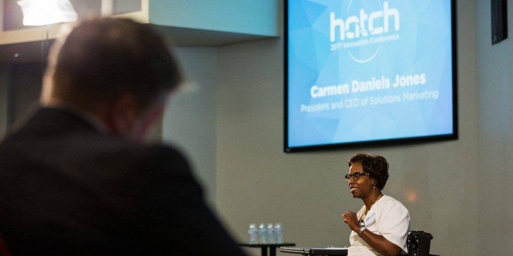 Carmen Daniels Jones at Hatch 2017