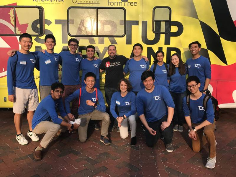 TCO Team with Startup Maryland