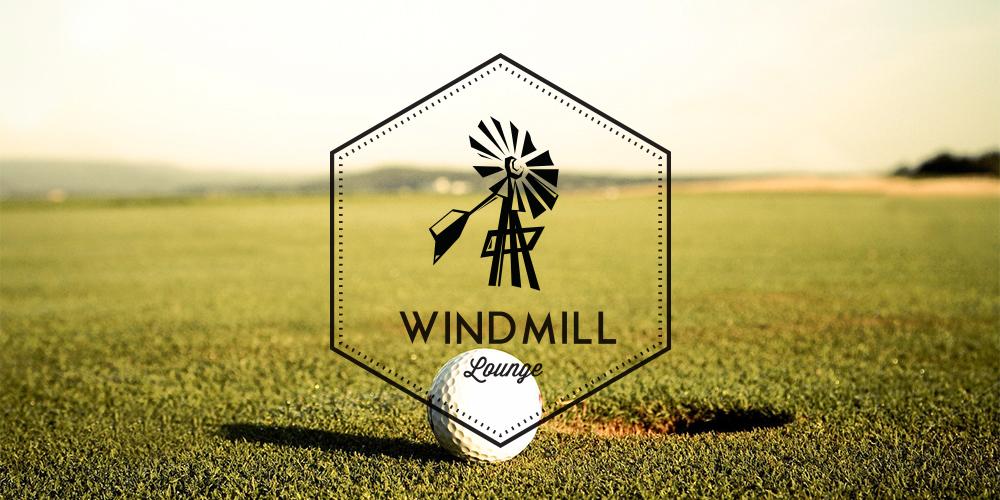 windmill-lounge-logo-design
