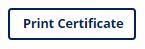 Print Certificate Icon
