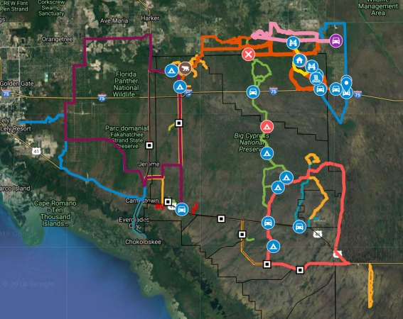 Big Cypress Map