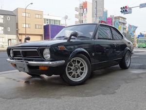 クラシックカー 人間 日本車 国産、4