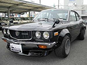 クラシックカー 人間 日本車 国産、5