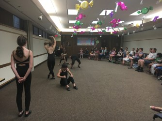 Advanced Dance Creations class
