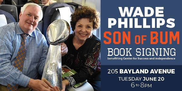 Wade Phillips Book Signing