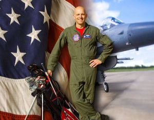 Major Dan Rooney, F16 Fighter Pilot, Founder of the Folds of Honor and PGA Professional