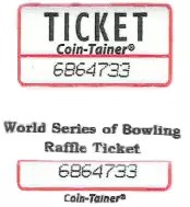 WSOB Raffle Ticket