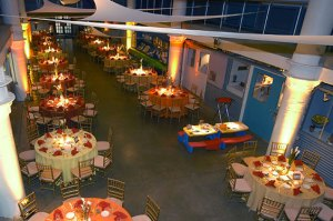Aerial view of dining room - Aerial-view-of-dining-room