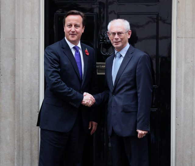 ©CCBY-ND2.0 British PM Cameron and former European President Van Rompuy