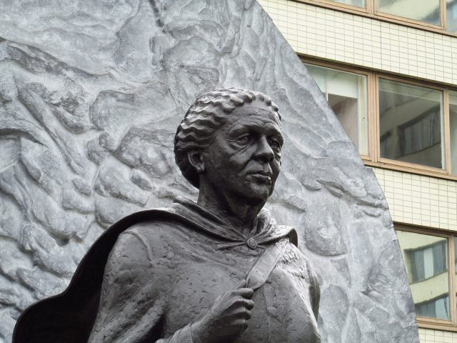 Bust of Mary Seacole in London