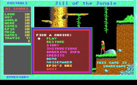 Jill of the Jungle EGA title