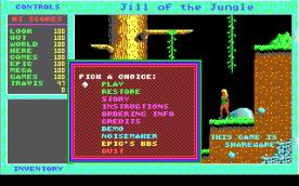 Jill of the Jungle EGA title