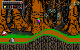 Commander Keen 4 EGA in-game