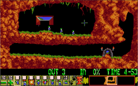 Lemmings VGA level 1