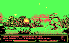 Metal Mutant CGA in-game