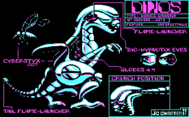 Metal Mutant CGA cut scene
