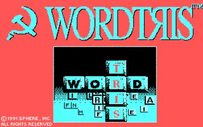 Wordtris CGA title