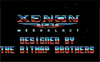 Xenon 2 EGA title
