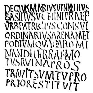 Roman-Letters