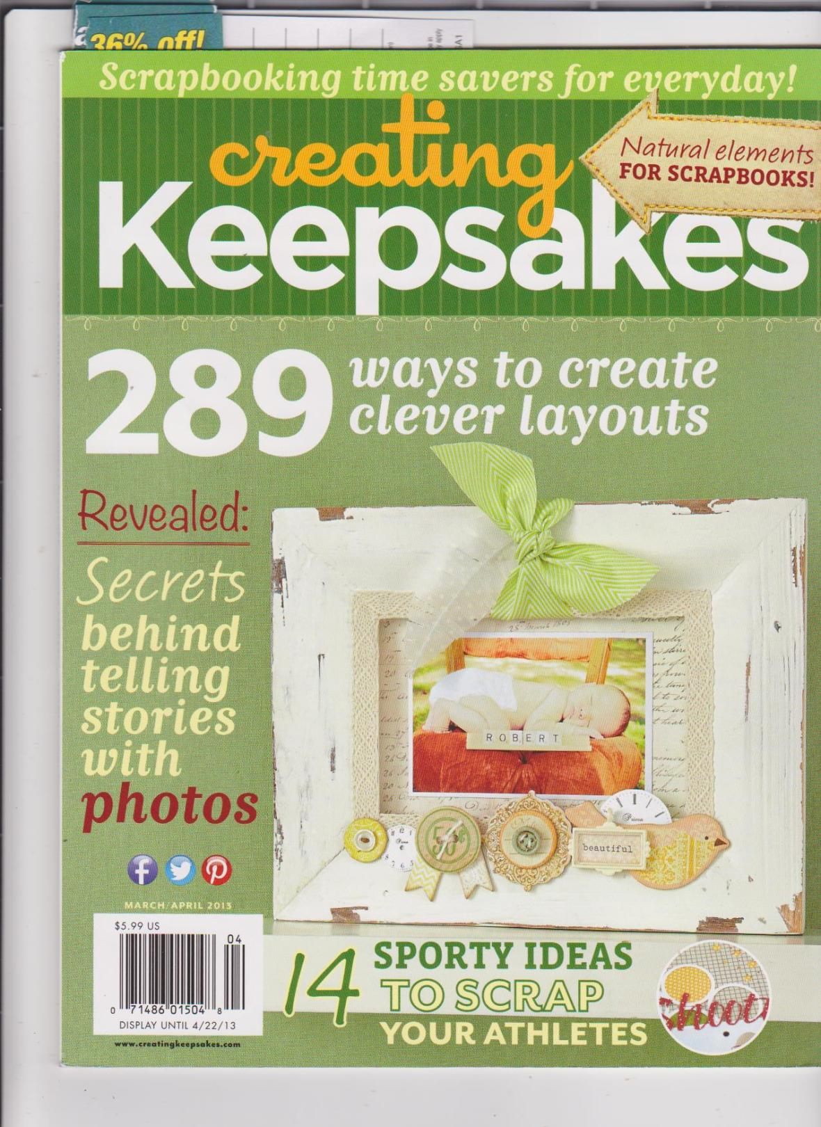 CKMarchApril2013Cover