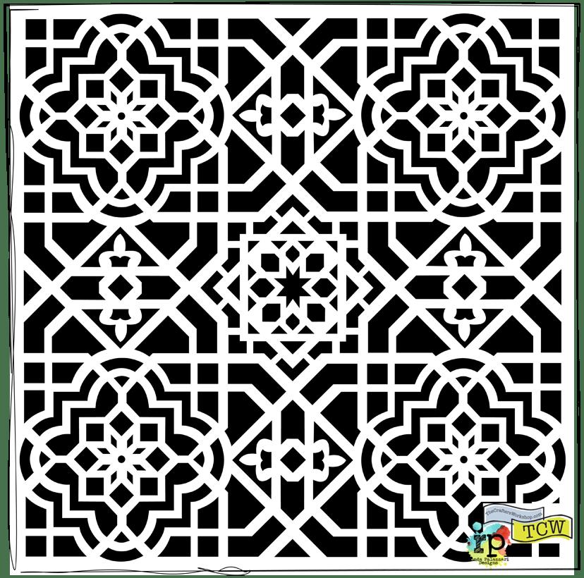 Ronda Palazzari Ceiling Tile TCW 393