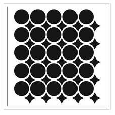 TCW220 Wonky Circles