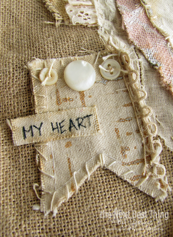 My Heart Pillow by Lynne Forsythe